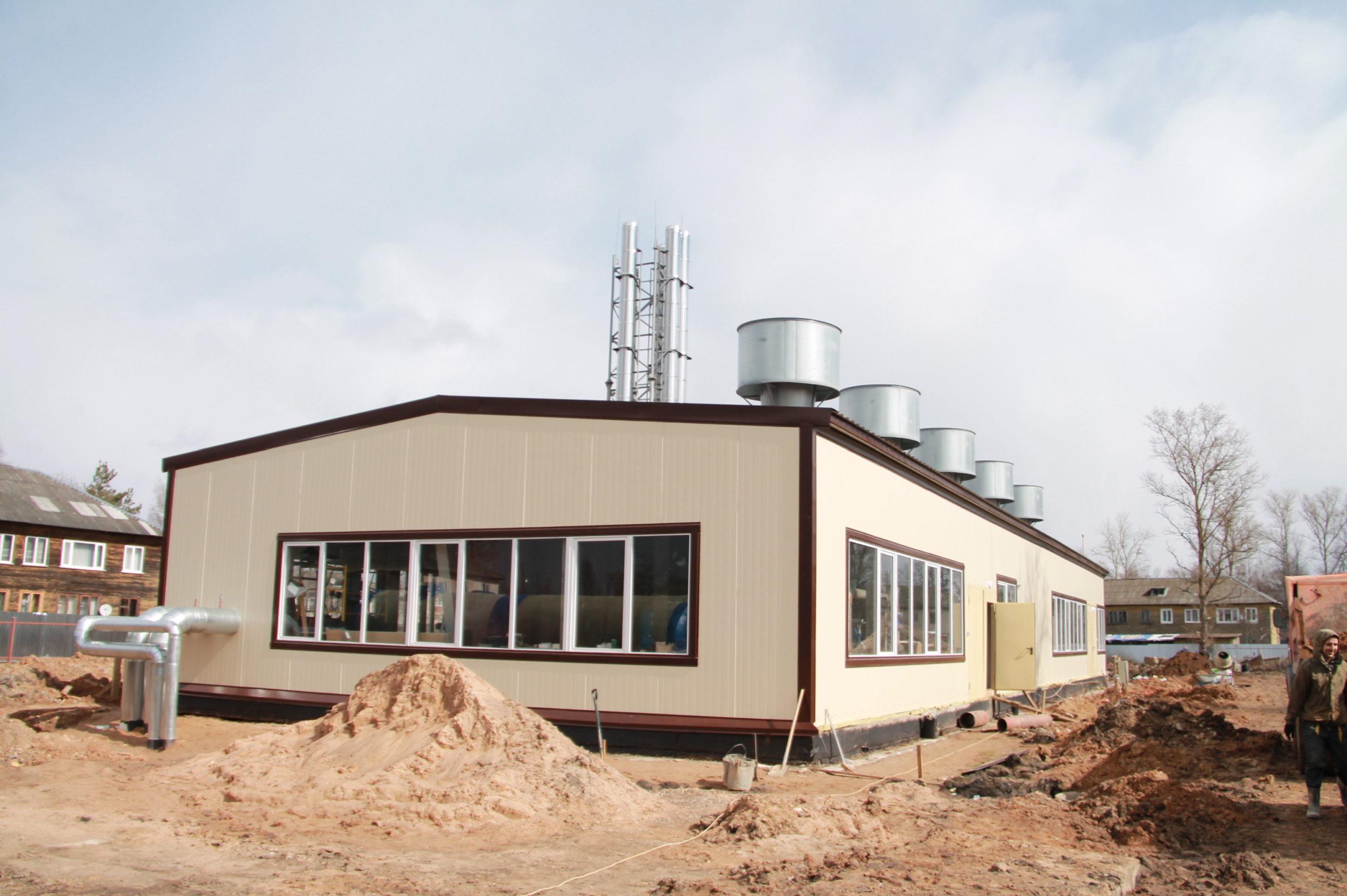 В Тверской области завершается строительство котельной