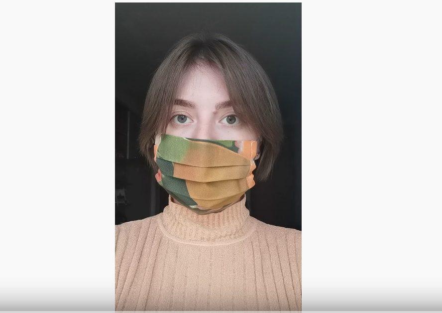 Дарья Амосова: уверена, что #носитьмаскумодно