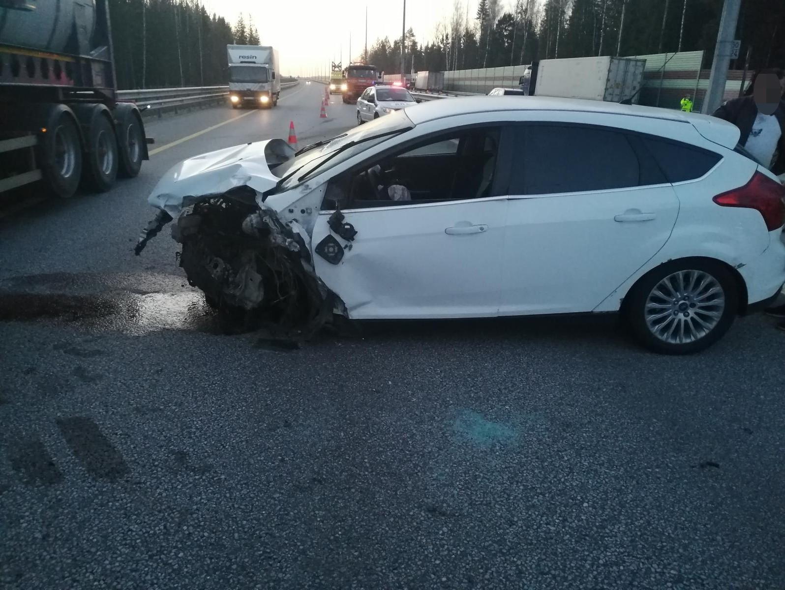 В Тверской области в ДТП пострадала женщина