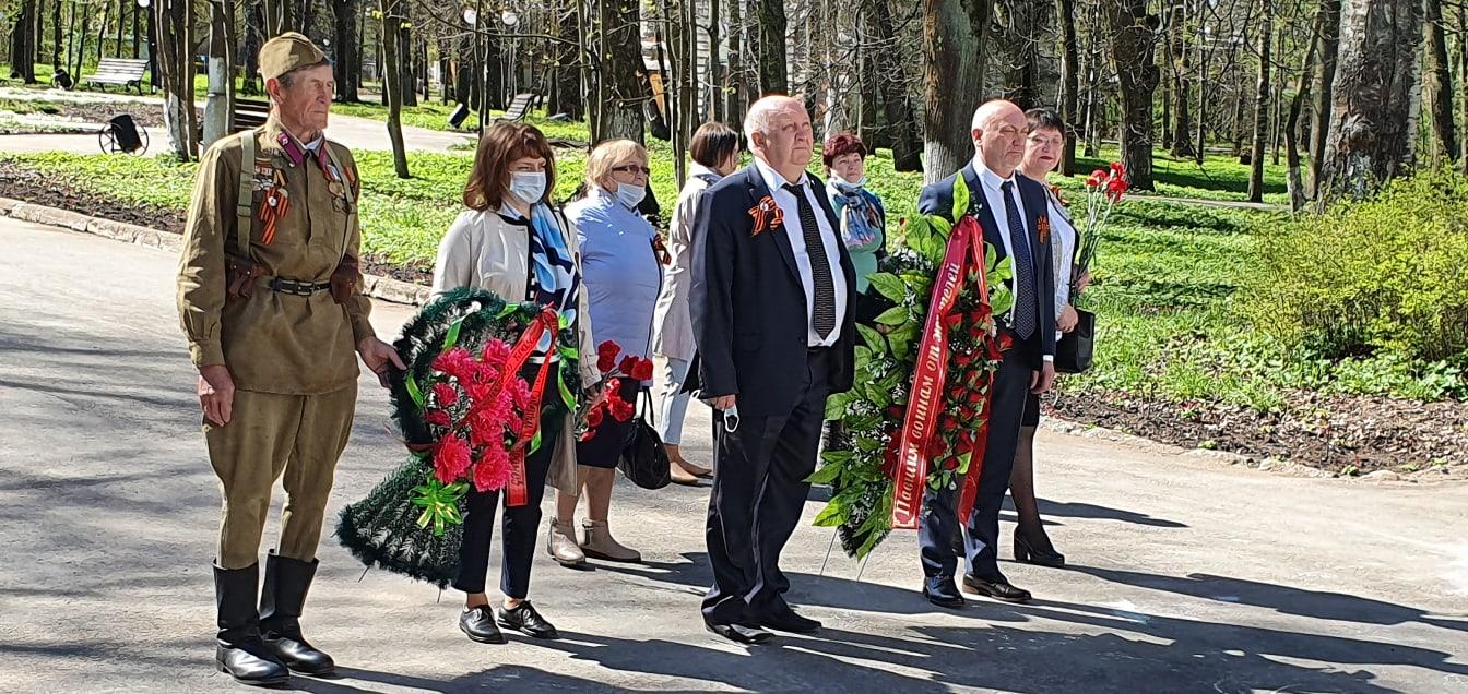 В Осташковском городском округе почтили память героев Великой Отечественной войны