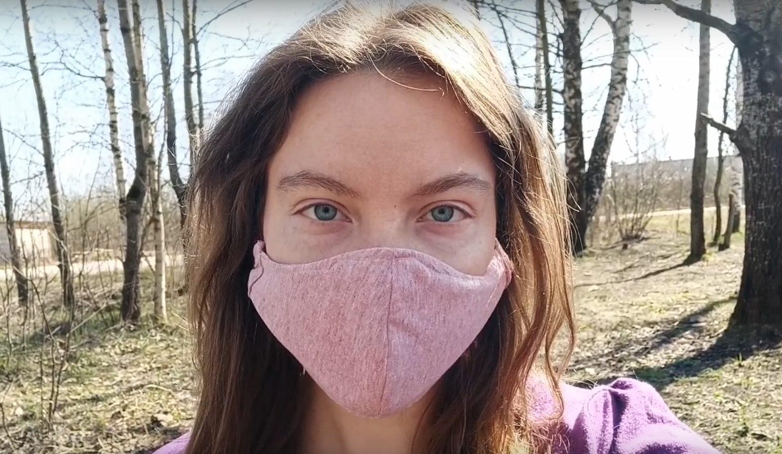 Алена Стряпченко: считает, что #носитьмаскумодно