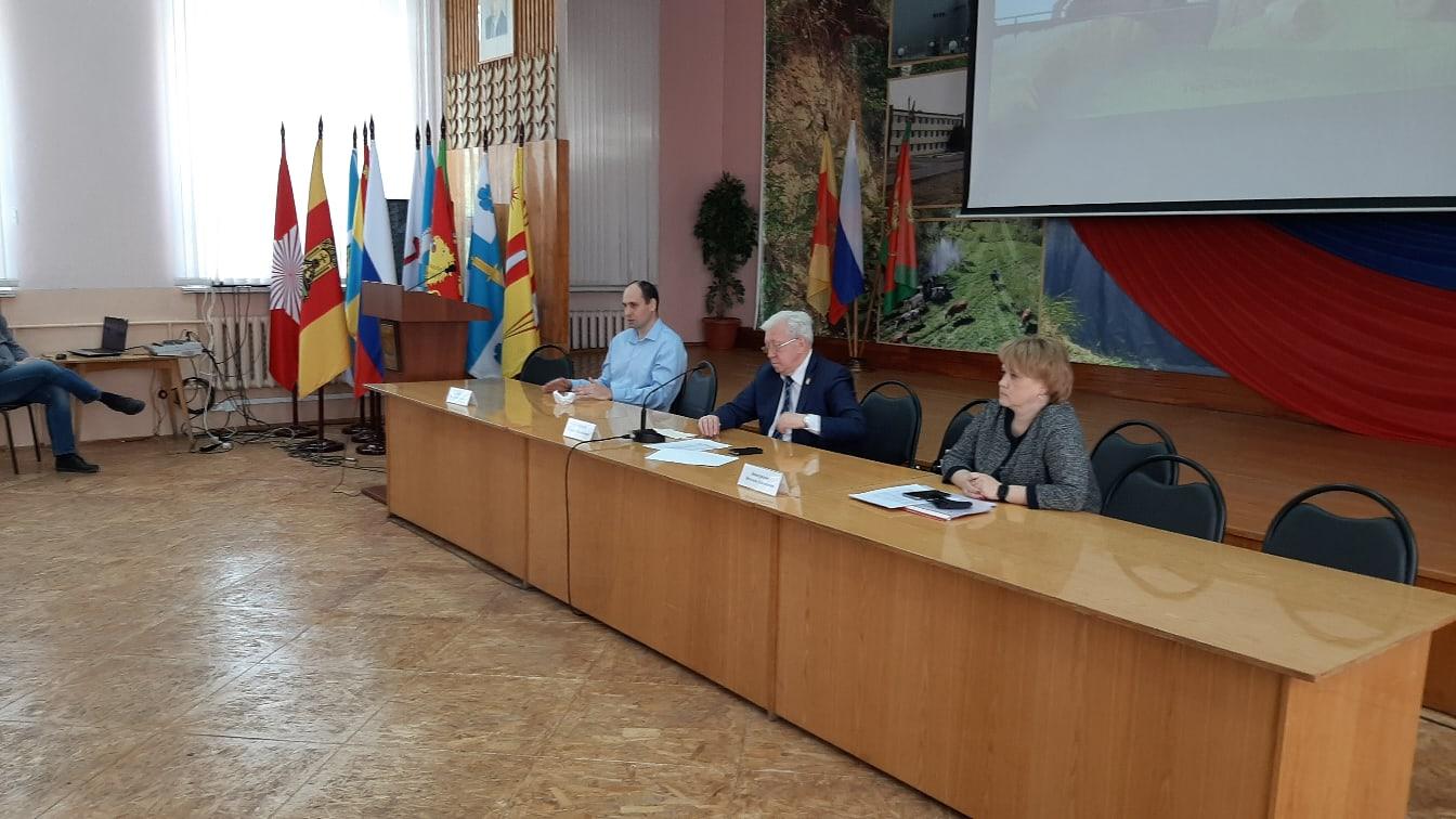 В Ржевском районе обсудили посевную кампанию