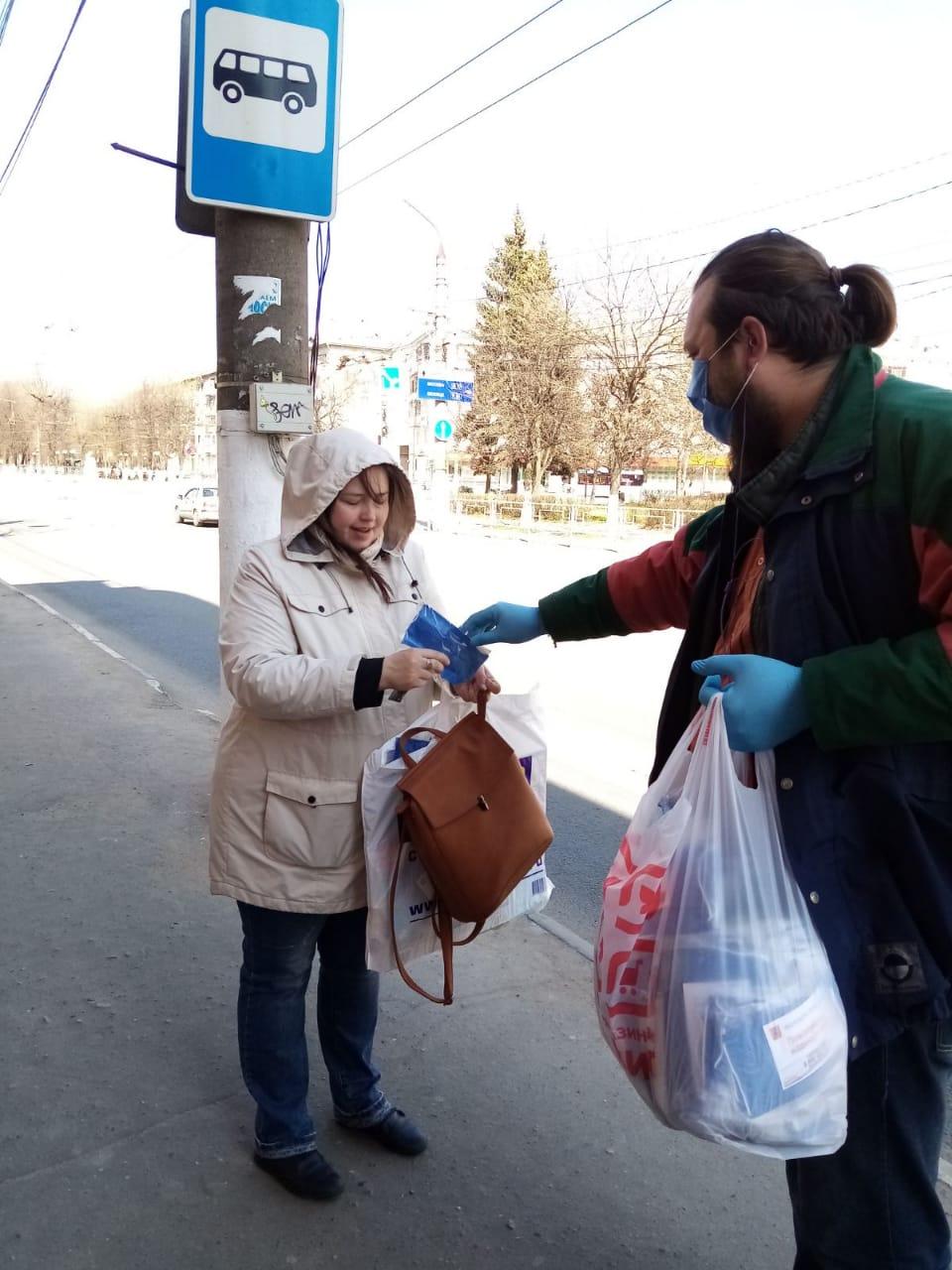 Более 200 тысяч масок раздали бесплатно в Тверской области