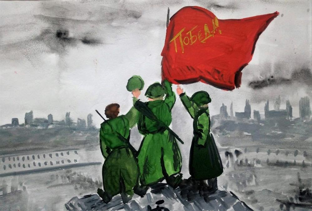Конкурс детского рисунка «РЖЕВСКИЙ РУБЕЖ» прошел в Тверской области