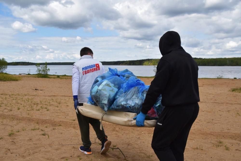 В День Волги уборка прибрежных территорий прошла в Тверской области