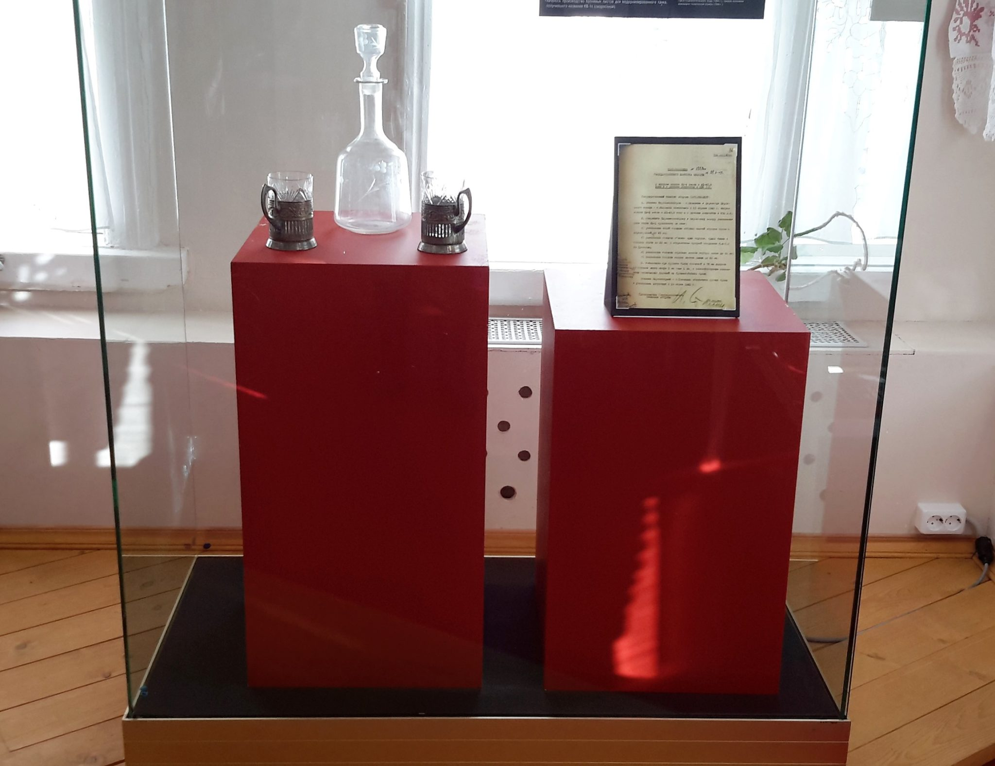 В музее Победы в Тверской области появились новые экспонаты