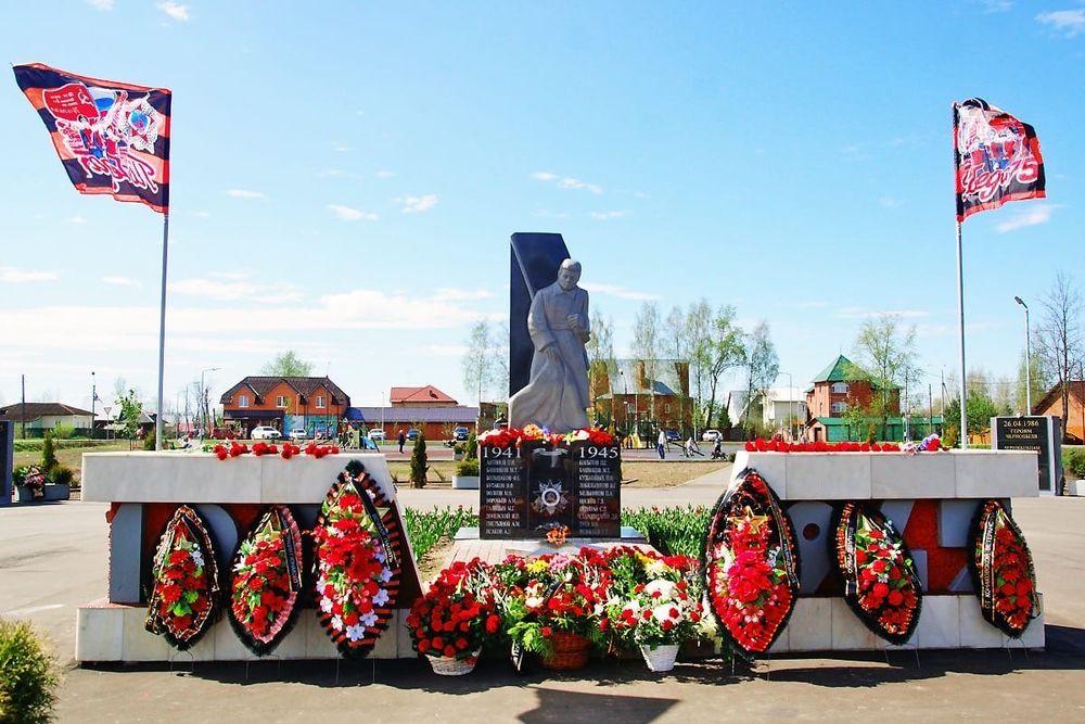 В Конаковском районе в День Победы состоялось возложение цветов к мемориалам