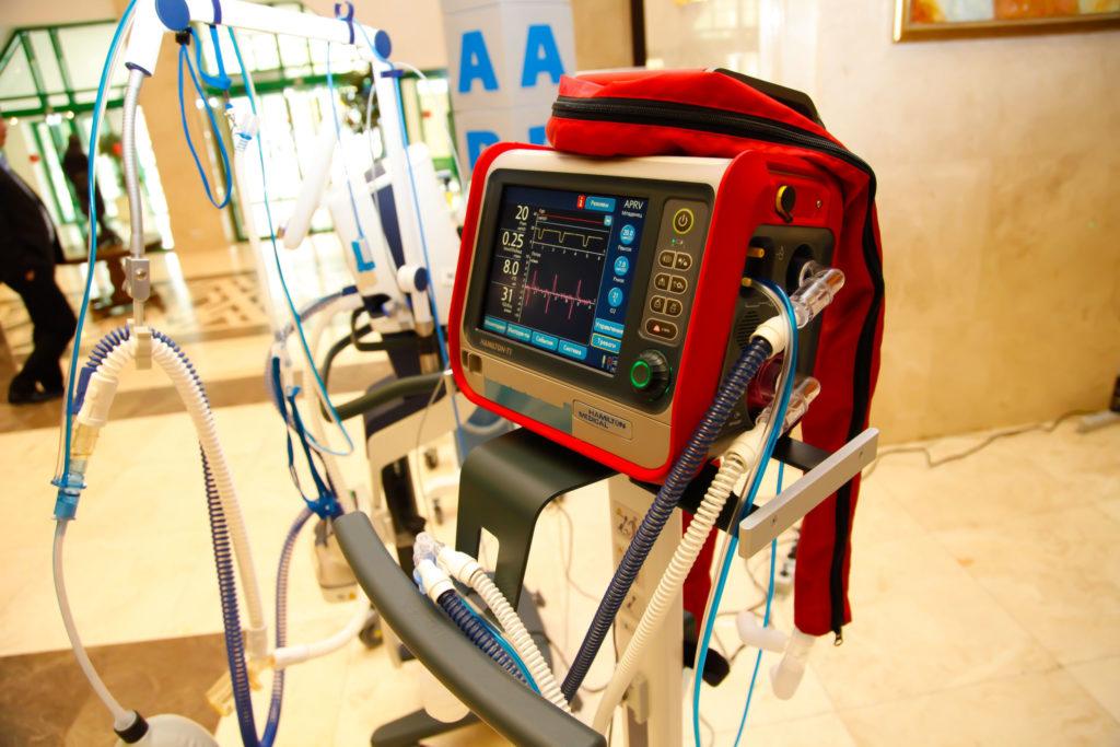 Для тверской городской больницы №6 приобрели более 350 единиц оборудования