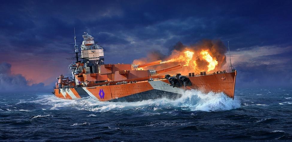 """""""Ростелеком"""" открыл доступ к новому премиум-линкору в World of Warships для абонентов тарифа """"Игровой"""""""