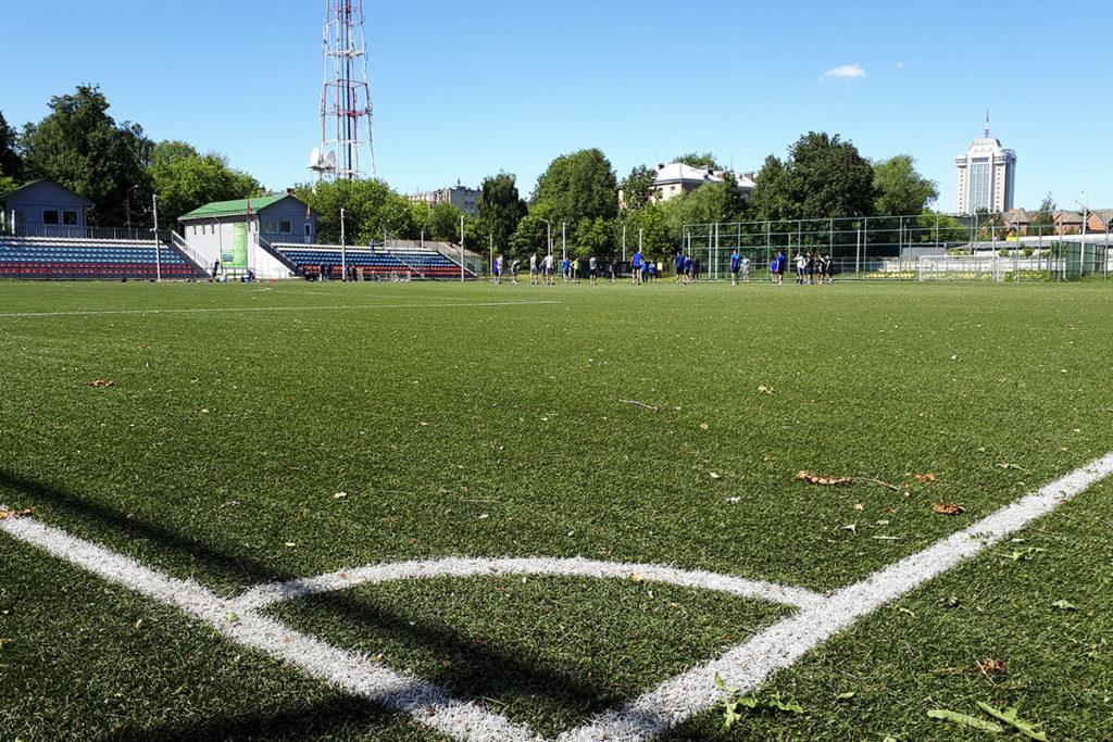 Футбольный клуб «Тверь» провелпервую тренировку на стадионе «Юность»