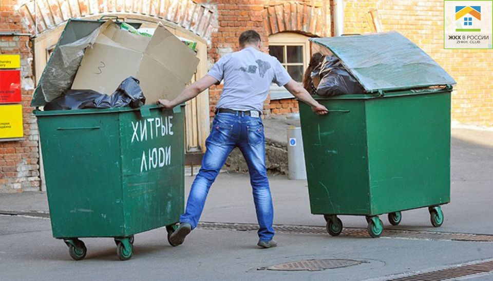 Двое безработных украли в Твери 39 мусорных контейнеров