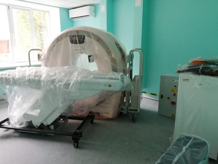 В Кимрской ЦРБ готовят к эксплуатации томограф