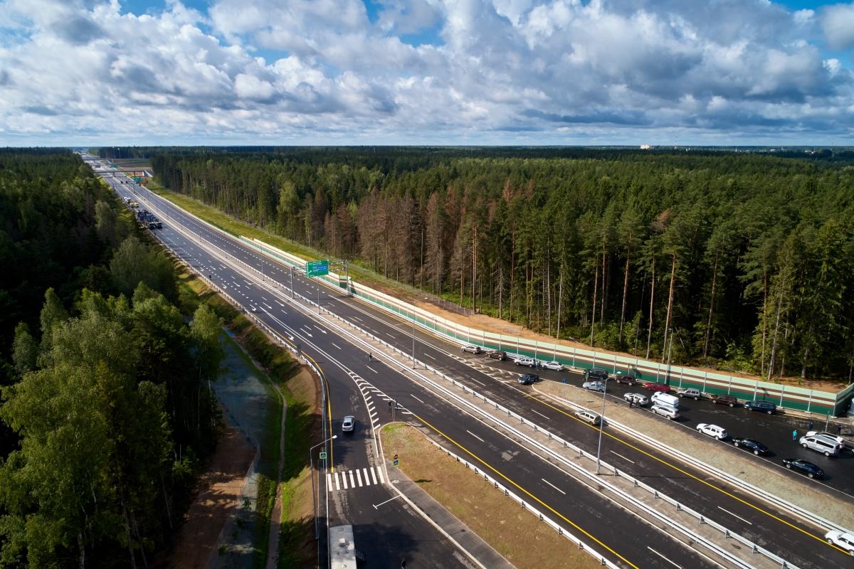Еще на одном участке М-11 в Тверской области увеличили скоростной режим