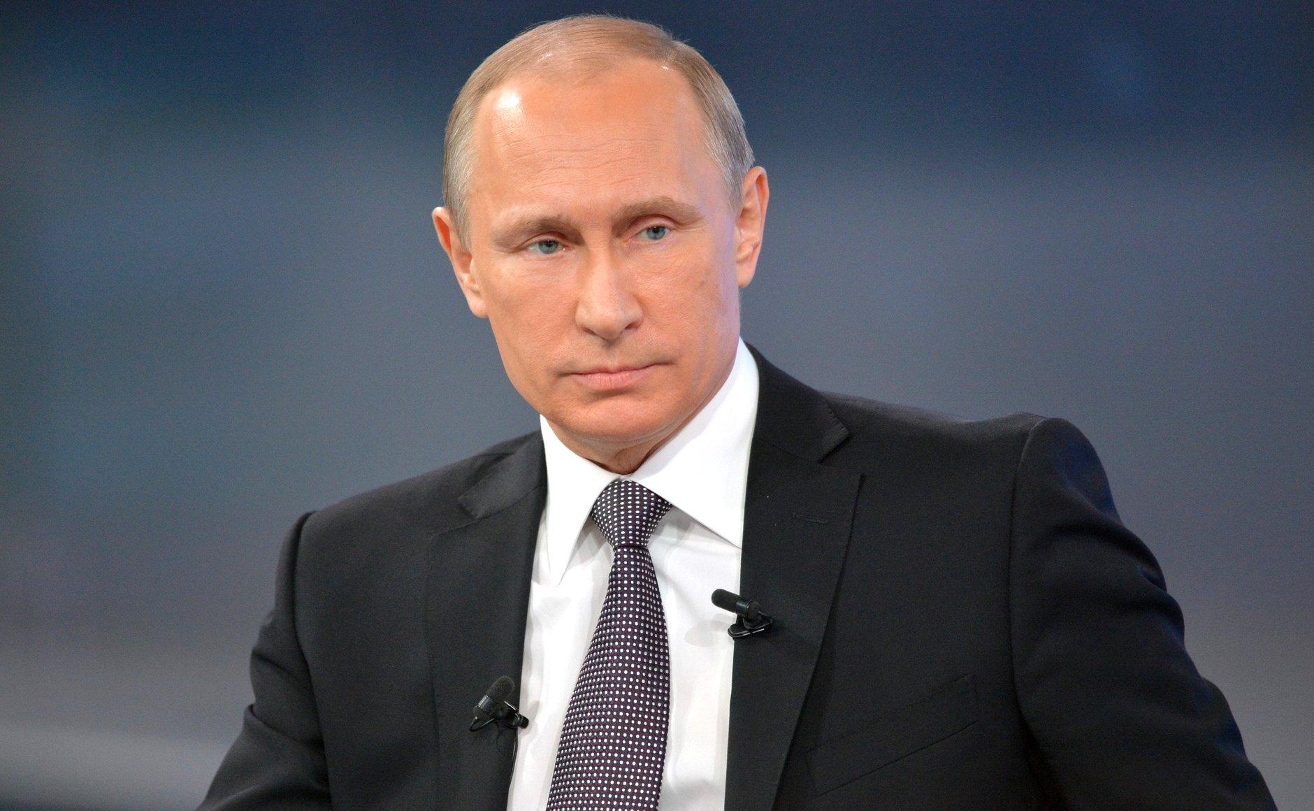 Путин выступит с телеобращением к гражданам