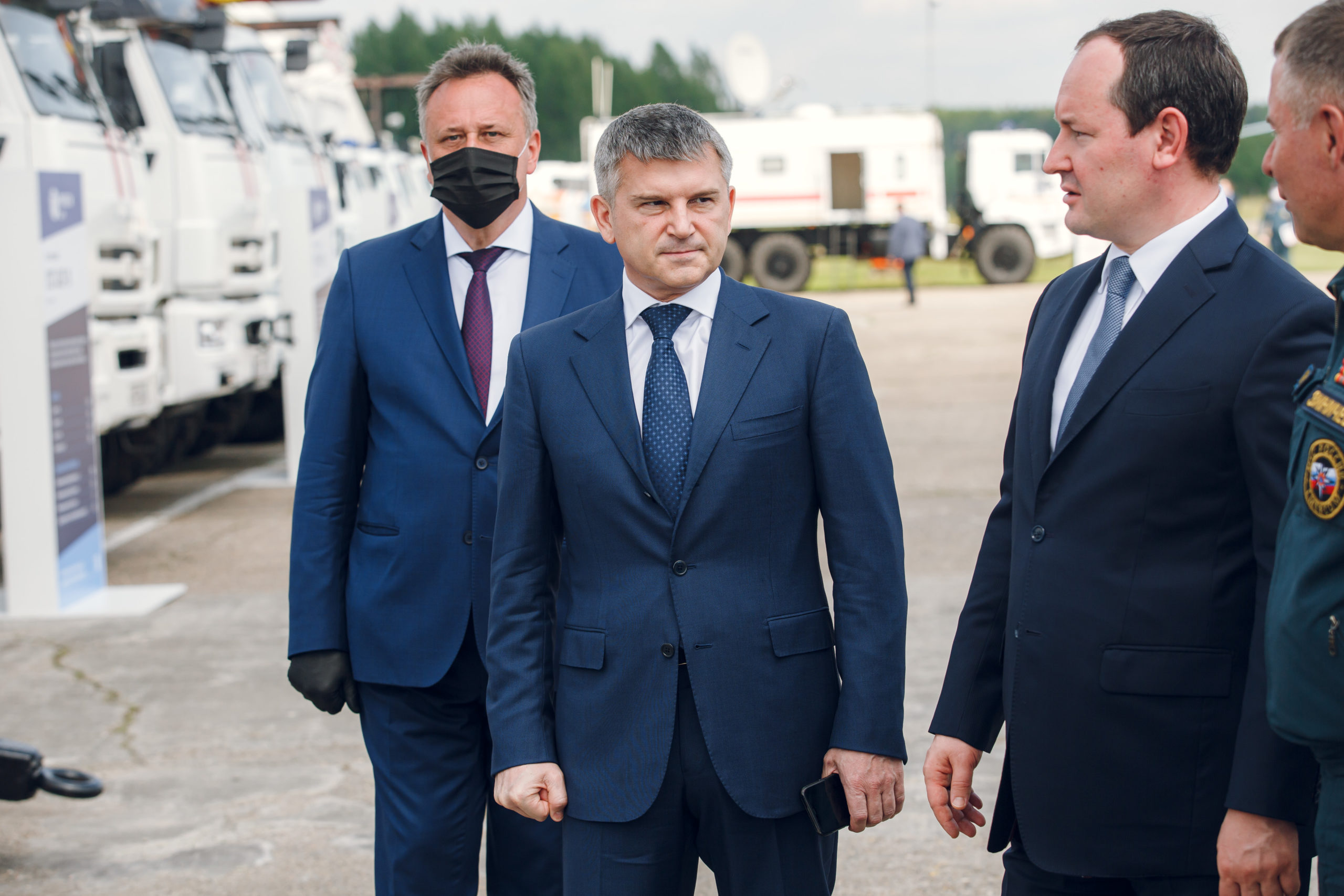 Павел Ливинский принял участие в проверке готовности Тверской области к пожароопасному сезону
