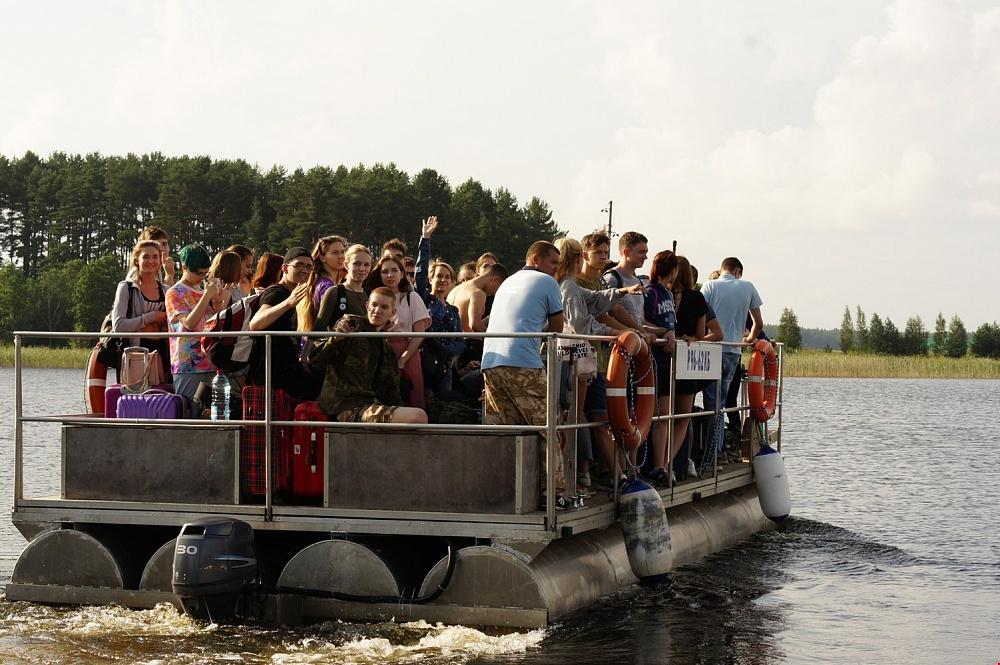 Студенческий спортивный лагерь откроется на острове в Тверской области