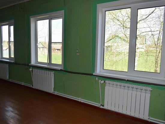 Печное отопление в школах Тверской области переводят на котельный обогрев