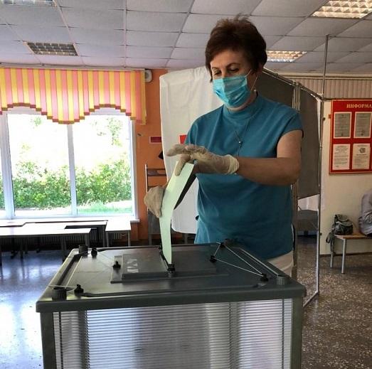 Главврач перинатального центра имени Бакуниной проголосовала по поправкам в Конституцию РФ