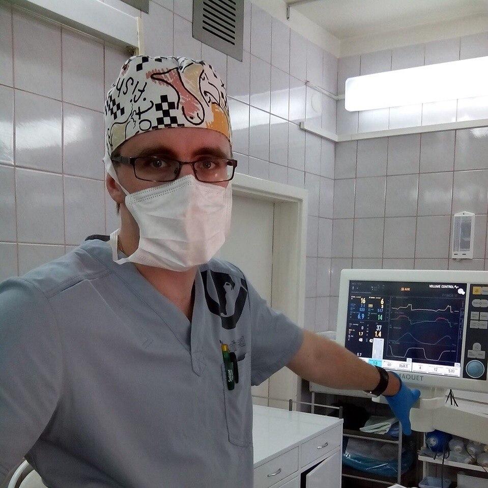 Анестезиолог-реаниматолог из Твери рассказал, почему решил работать в «красной зоне»