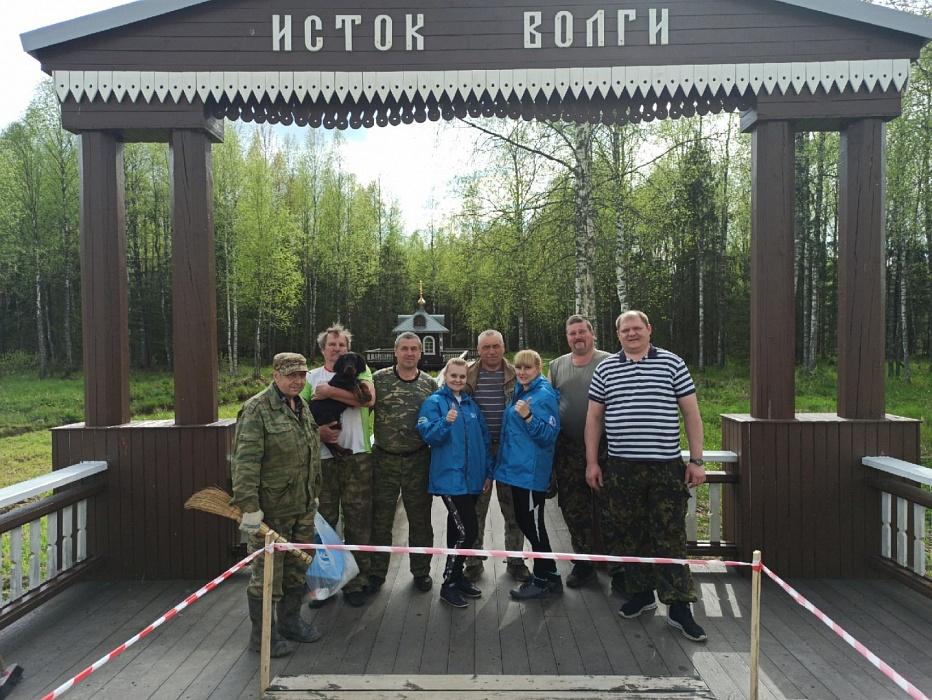 В Тверской области прошел субботник на истоке Волги