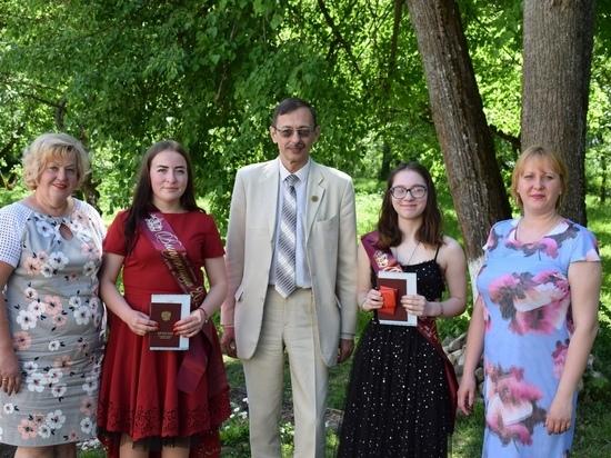 В школе в Тверской области все выпускники получили золотые медали