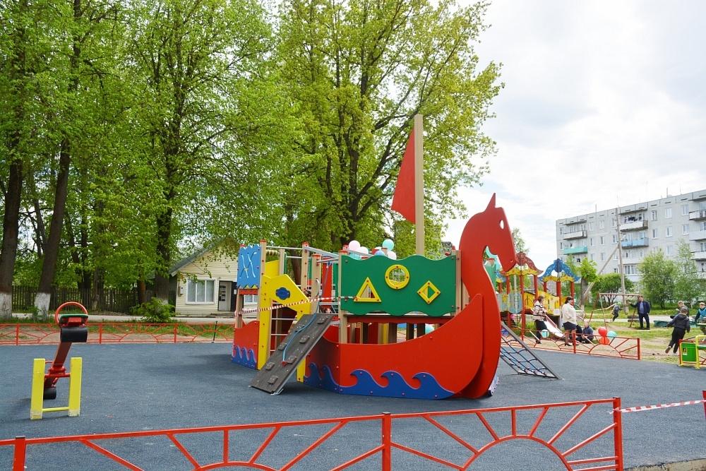 В деревне Сороки Тверской области возведут детский игровой комплекс