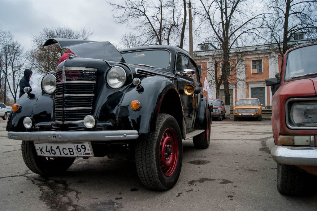В День России в Твери пройдет парад ретроавтомобилей