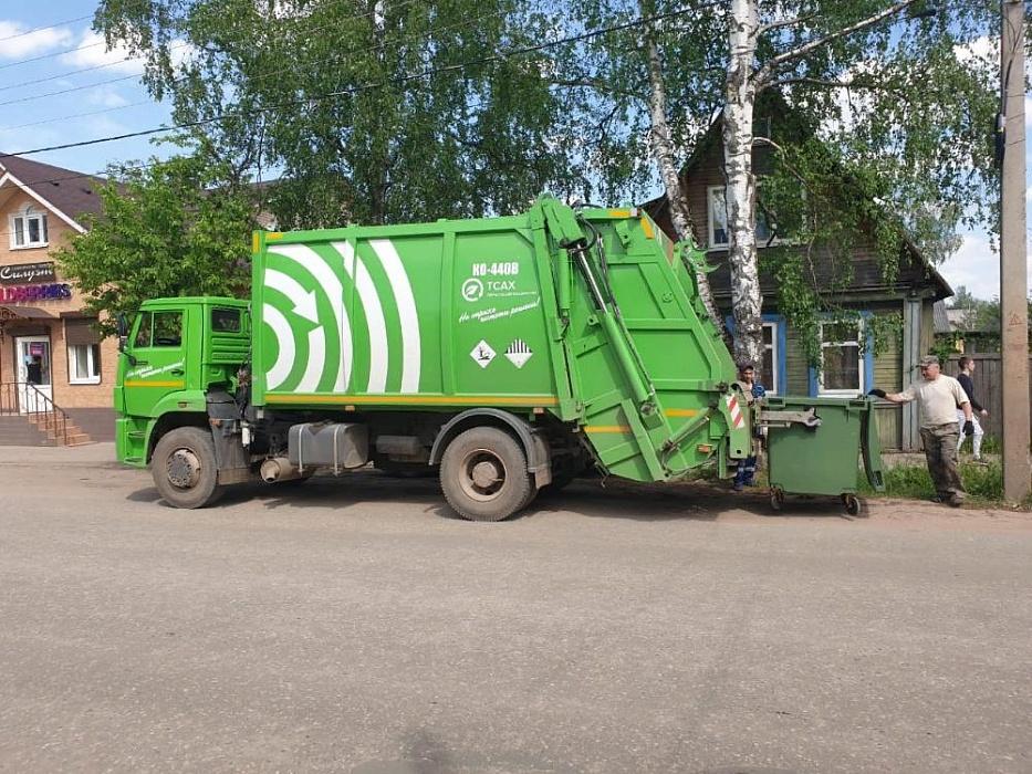 25 евроконтейнеров установили в Тверской области