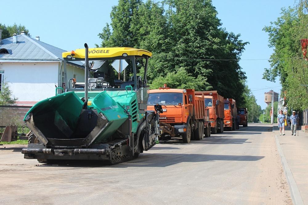 Глава района в Тверской области проверила ход дорожного ремонта