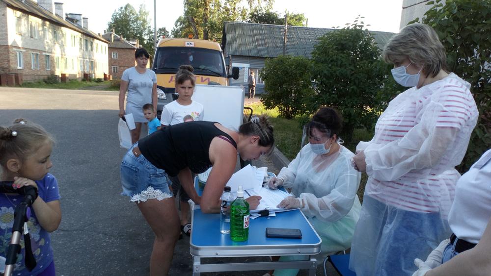 В Жарковском районе проходит голосование по поправкам в Конституцию