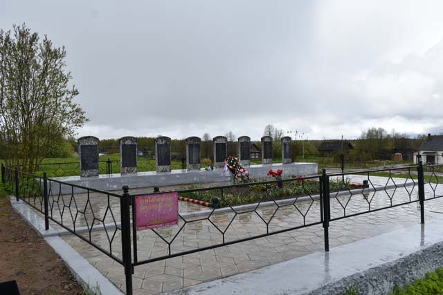В Тверской области провели капитальный ремонт воинского захоронения