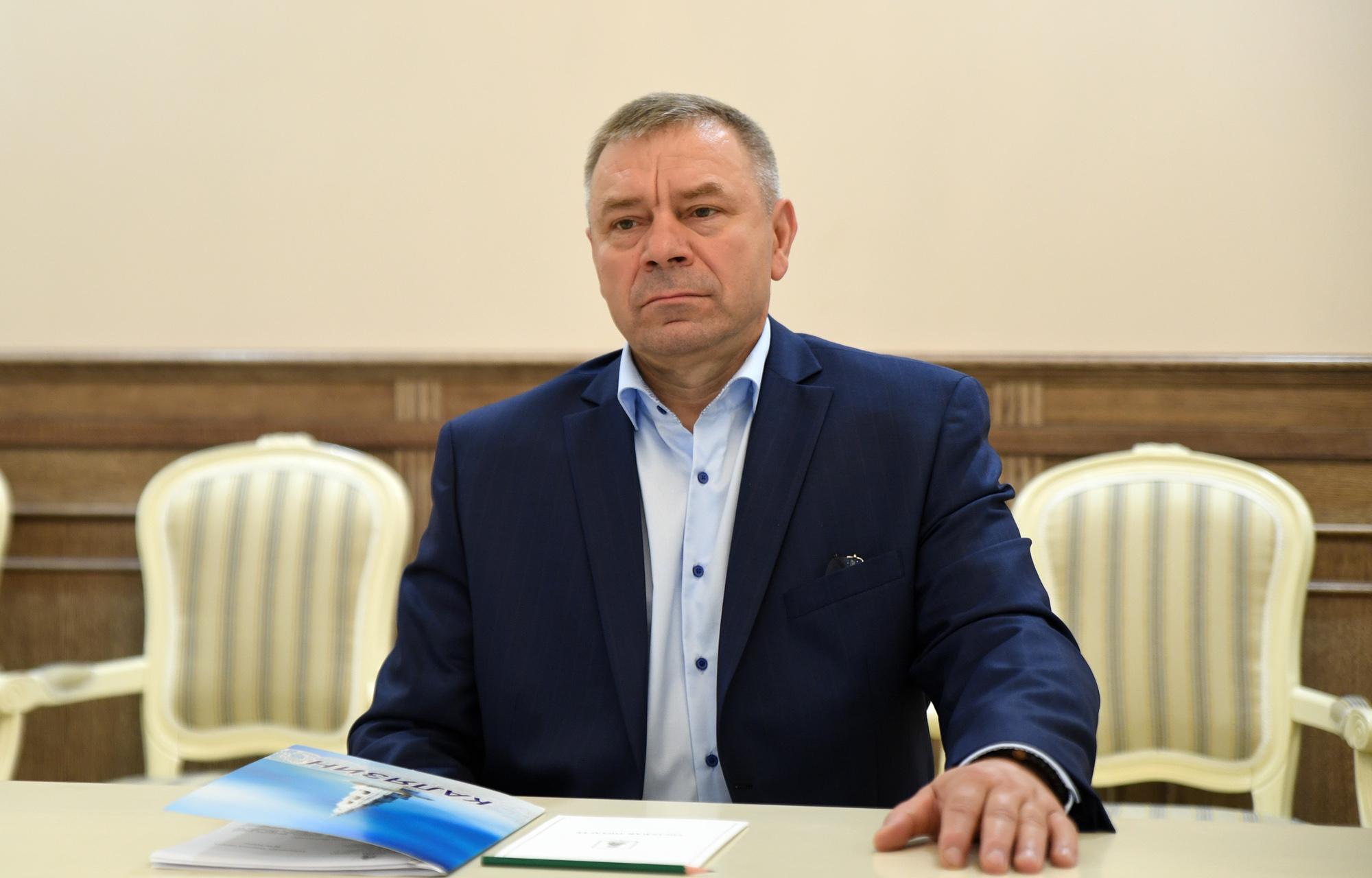 Глава Калязинского района Константин Ильин посетил совещание у губернатора Тверской области