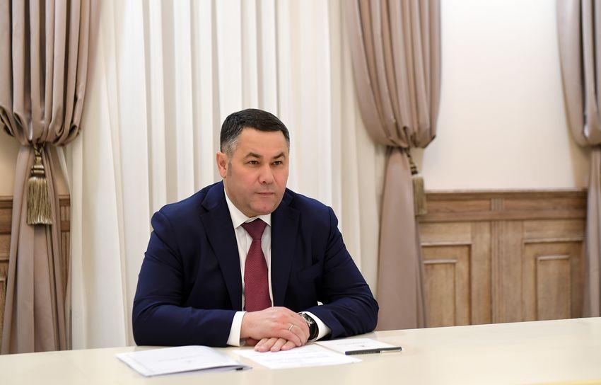 Губернатор Игорь Руденя провел встречу с главой Фировского района