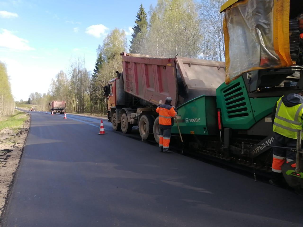 Как до Вологды: в 2020 году в Тверской области в отремонтируют 536 километров дорог
