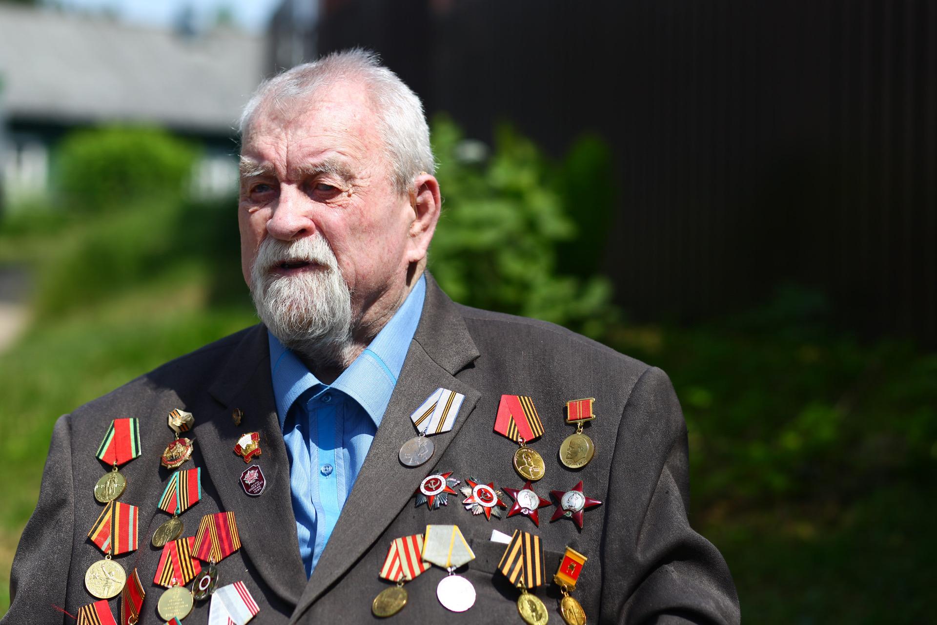 Участника Великой Отечественной войныБориса Петровича Колесова поздравили с 100-летием