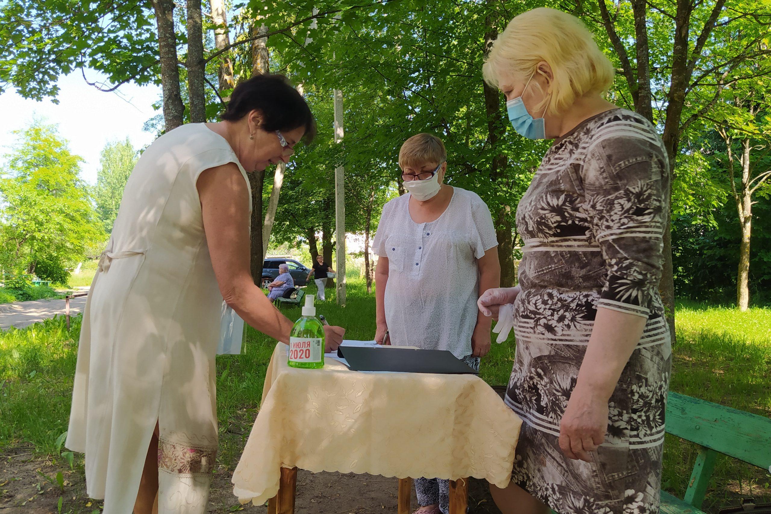 Жители Нелидовского района активно участвуют в голосовании по поправкам в Конституцию