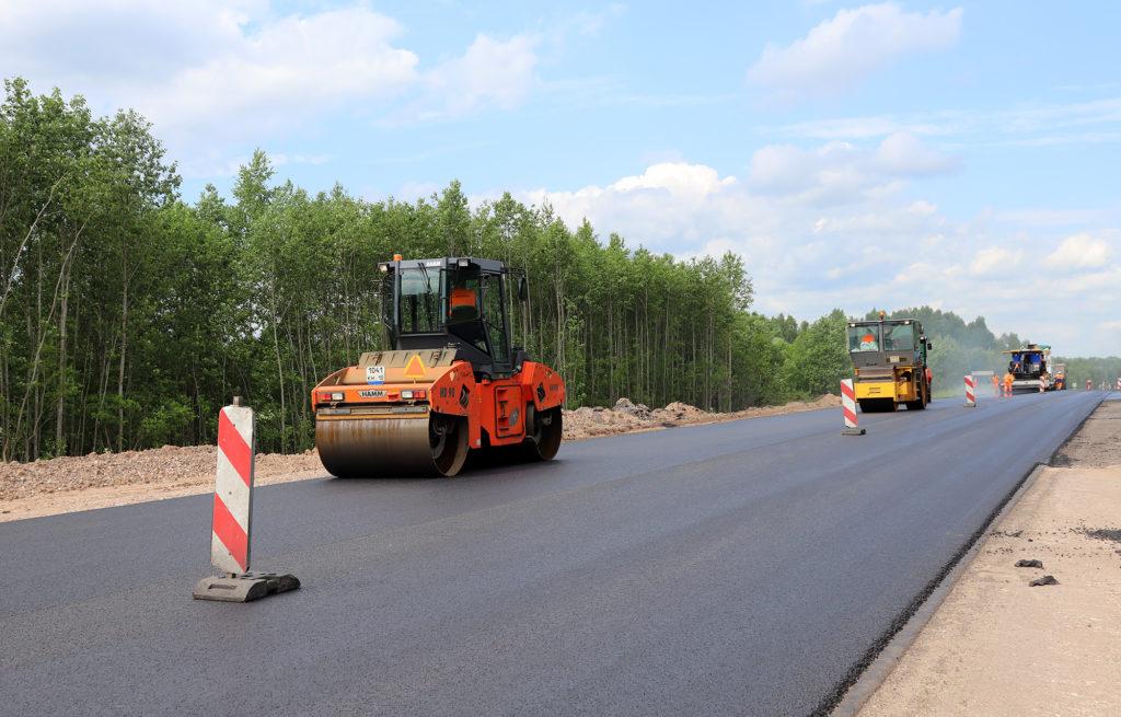 Дорогу «Тверь – Бежецк –Весьегонск - Устюжна» начали ремонтировать по технологии регенерации