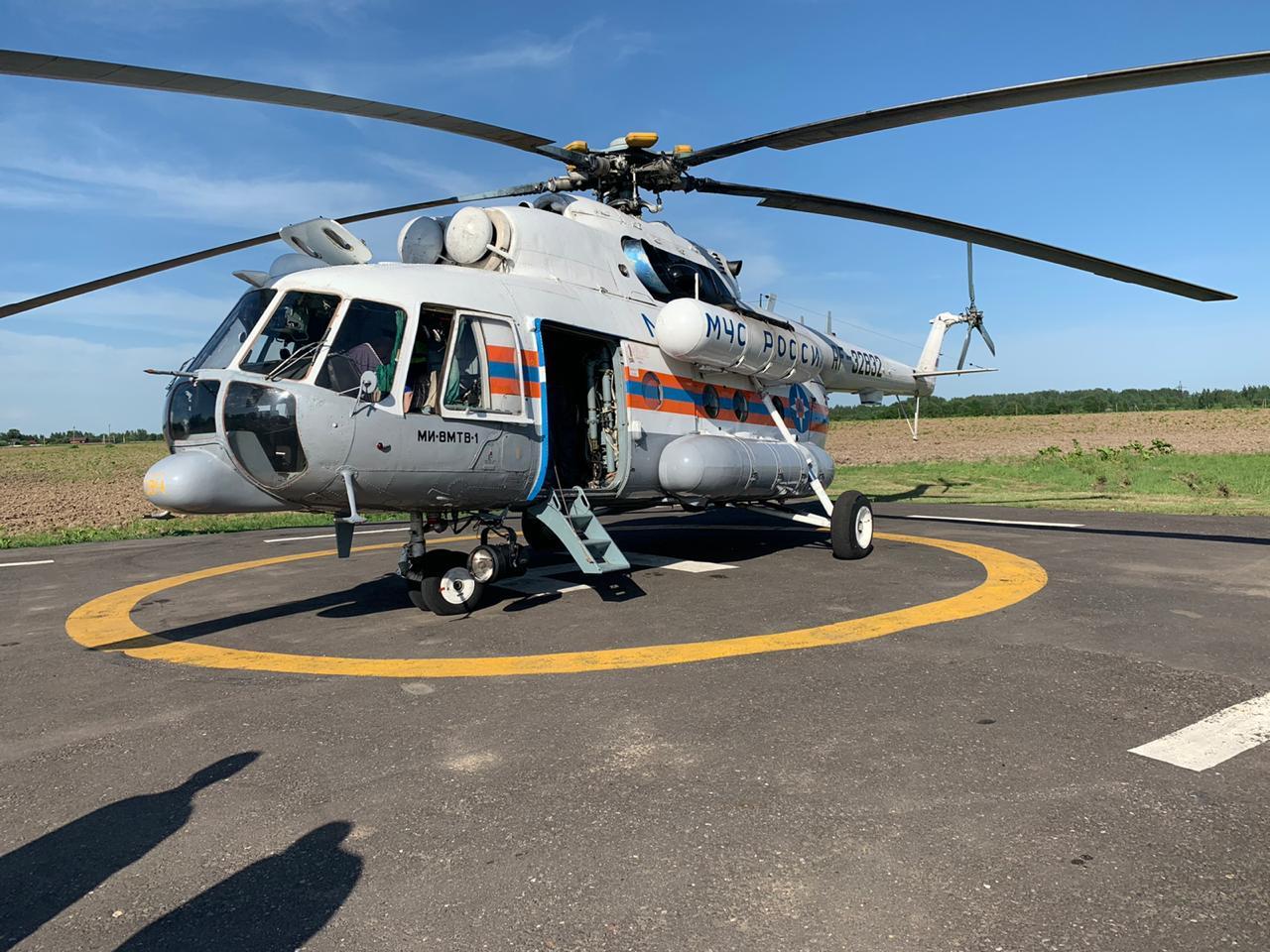 В Тверской области обустроят еще три площадки для вертолетов санавиации