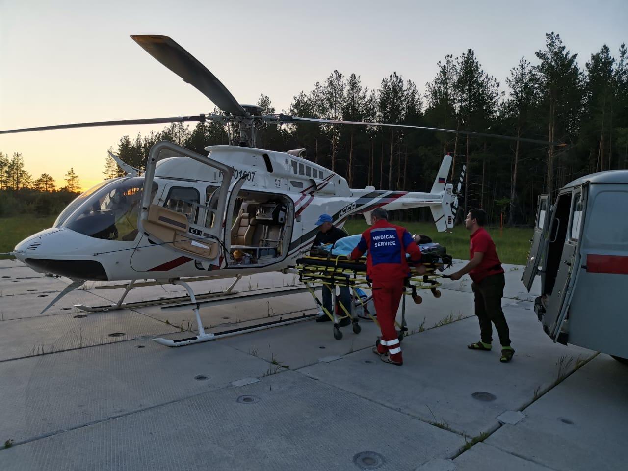 Срочная помощь санавиации понадобилась двум пациентам из Тверской области