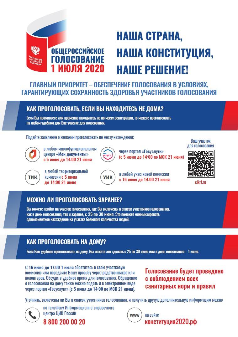 Голосование по изменениям в Конституцию РФ в Тверской области пройдет без электронного формата