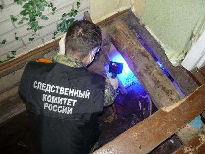 Тверские следователи опубликовали видео с места, где мужчина закопал убитого им приятеля