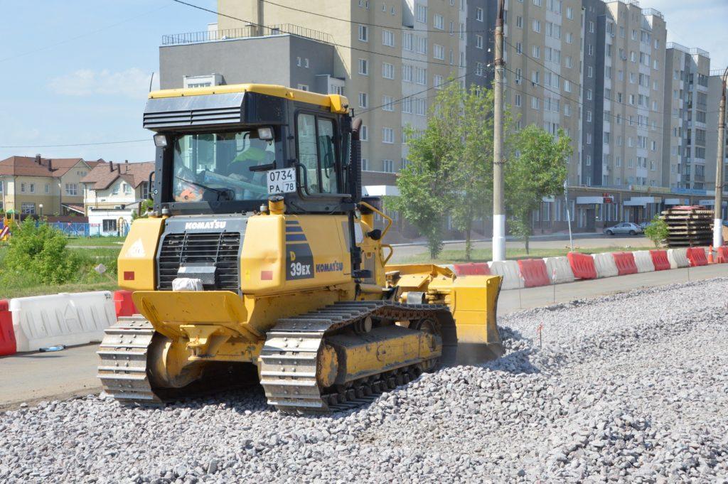 В Твери продолжают активно ремонтировать улицы