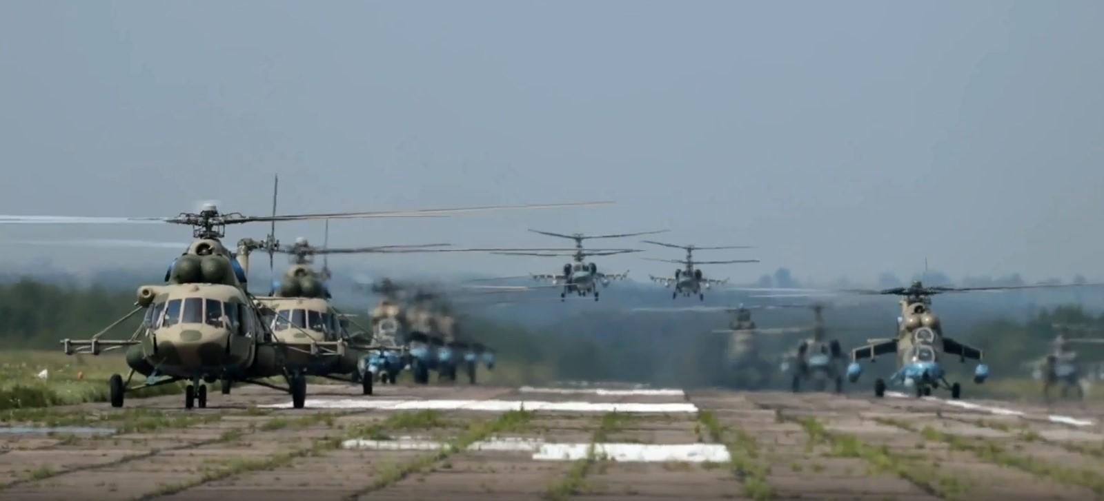 В небе над Тверской областью прошла заключительная часть репетиции Парада Победы