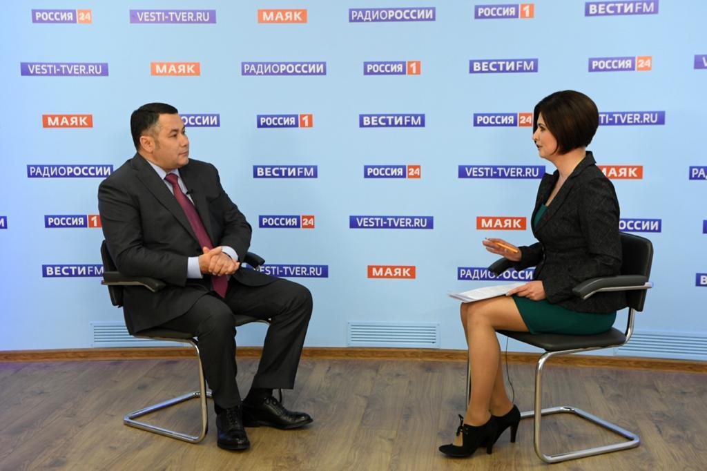 Игорь Руденя в прямом эфире рассказал о поэтапном начале плановой работы медучреждений