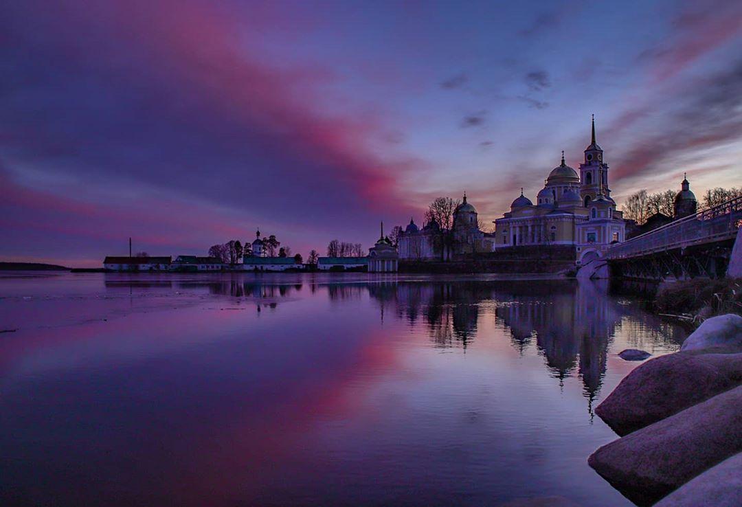 Красоту закатов в Тверской области показала фотограф из Москвы