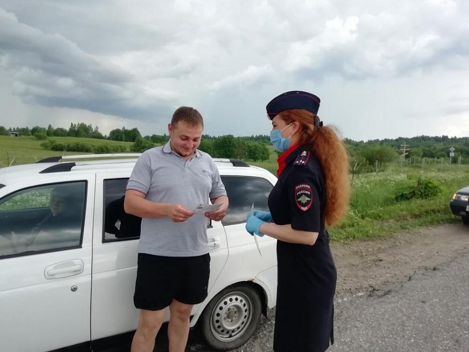 В Бологовском районе прошла всероссийская социальная кампания «Внимание на дорогу!»