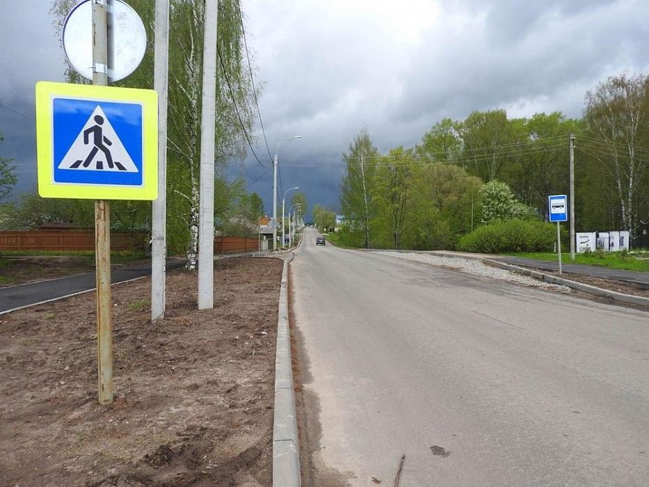 В Калязинском районе продолжаются работы по благоустройству