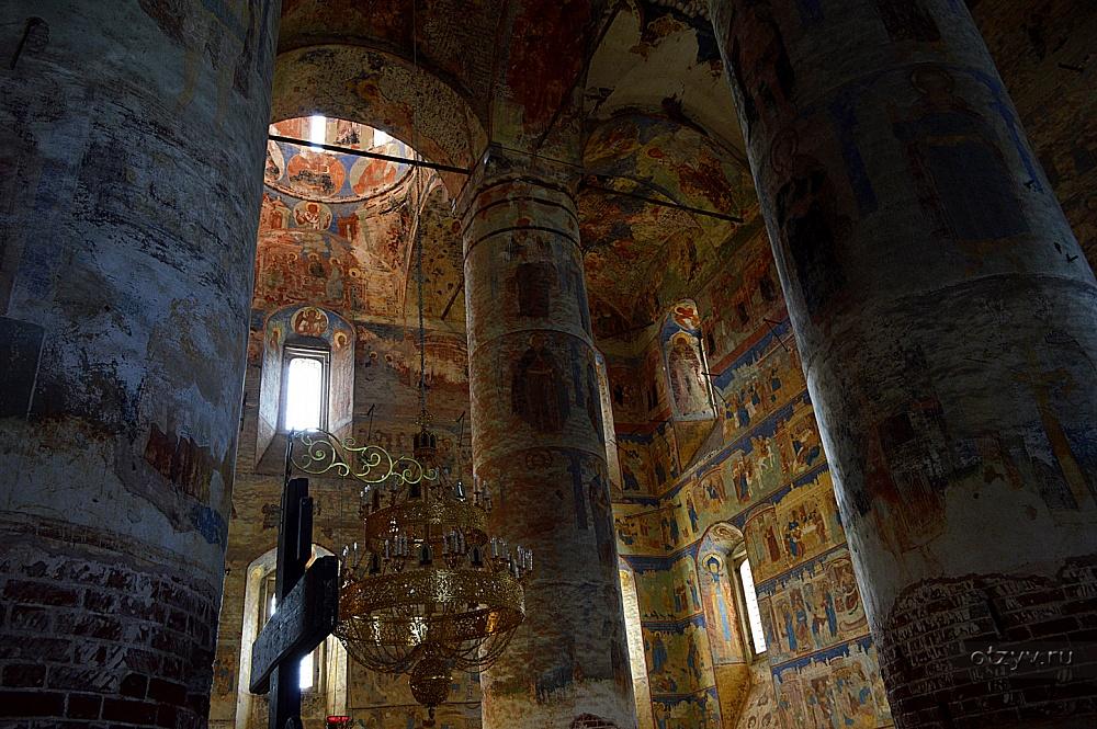В Государственном музее архитектуры представят отреставрированные калязинские фрески