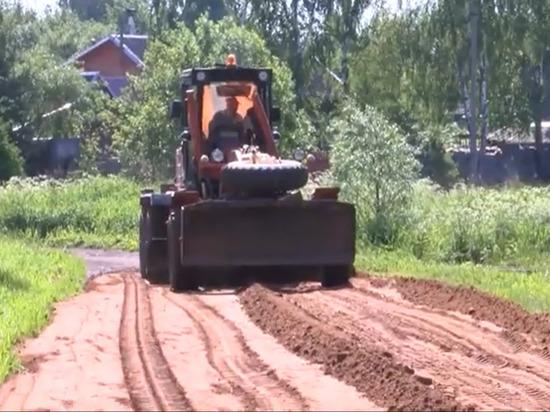 В Тверской области продолжаются дорожные работы