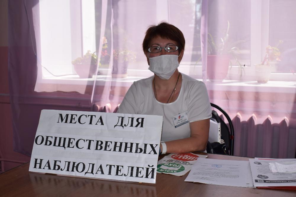 Ольга Алимова: Голосование проходит с соблюдением всех мер